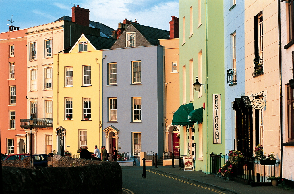 Tenby georgian houses
